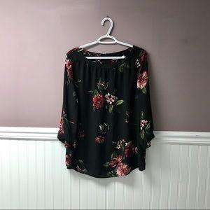 Reitmans floral blouse